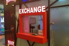 litere luminoase exchange